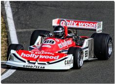 """1977 """"Hollywood"""" March 761 Ford Cosworth F1. Silverstone Classic 2008. by Antsphoto, via Flickr"""