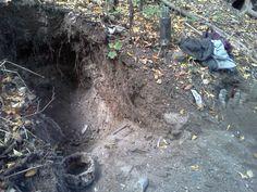 10/17/2013 Bottle Digging in Holyoke New England Mass