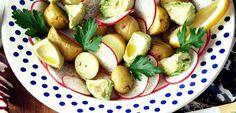 Ensalada de Papas y Rabanitos - Recetas Saludables Y Para Veganos