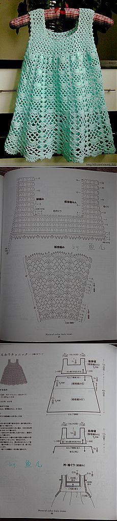 Fabulous Crochet a Little Black Crochet Dress Ideas. Georgeous Crochet a Little Black Crochet Dress Ideas. Crochet Dress Girl, Crochet Girls, Crochet Baby Clothes, Crochet For Kids, Diy Crochet, Crochet Crafts, Crochet Projects, Crochet Top, Knitting Patterns