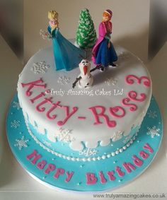 frozen cake ideas Frozencakeideasjpg Kids Birthday
