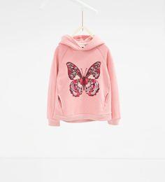Sudadera mariposa-SUDADERAS-NIÑA | 4-14 años-NIÑOS | ZARA España