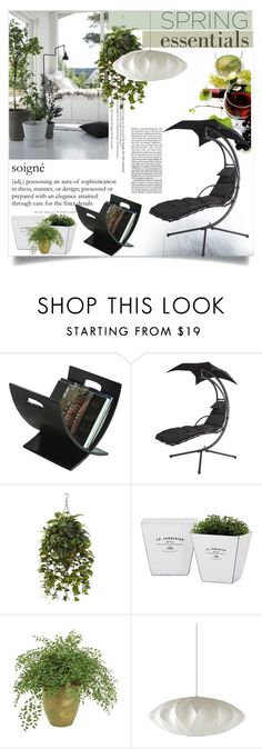 """""""Soigne"""" by clotheshawg ❤ liked on Polyvore featuring interior, interiors, interior design, home, home decor, interior decorating, Oceanstar, Nearly Natural, Torre & Tagus and Distinctive Designs"""