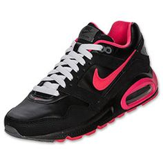 I got black laces, it looks so much better than white.....  Nike Air Max Navigate Leather Womens Running Shoes