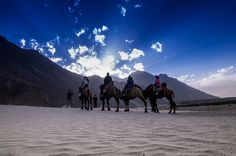 Sand Dunes of Hunder by Gourab Malla on 500px