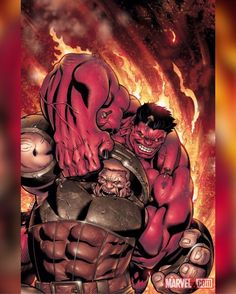 Can the Juggernaut Stop the Incredible Red Hulk! Upcoming Hulk cover by Ed McGuinness Hulk Marvel, Marvel Dc Comics, Comics Anime, Marvel Art, Marvel Heroes, Deadpool Wolverine, Captain Marvel, Marvel Comic Character, Comic Book Characters