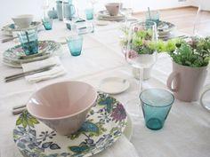 Arabia, Runo & KoKo, part Finland, Table Settings, University, Pottery, Plates, Ceramics, Dishes, Future, Lifestyle