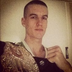 When you're the greatest autism fighter in the world today they've got a name for you. They don't call you a great fighter or a great performer, they call you Gareth Holmes.