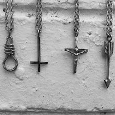 Xmas Presents - New Necklaces !! Available at www.iheardtheyeatcigarettes.com Free Delivery !! #jewelry #jewellery #ring #rings #necklace #necklaces #fashion #model #designer #asos #urbanoutfitters #punk #surf #skate #cool #love #ihtec #iheardtheyeatcigarettes
