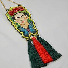 charoit / Náhrdelník Frida so strapcami