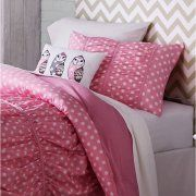 Better Homes and Gardens Kids Ruched Dots Bedding Comforter Set Image 2 of 8