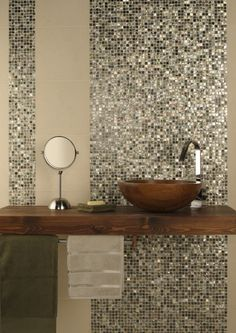 Mother Of Pearl Shell Mosaic Tiles By Original Style.