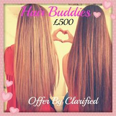 Two Full Heads £500 both with free 6 week maintenance worth £ 30 and a goodie bag