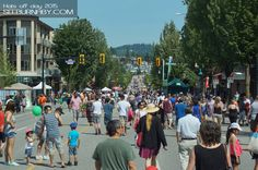 There is plenty of parking, food and entertainment, try to make it out next year.