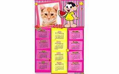 Moldura6813 Calendario 2015 Magali