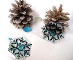 Transparent Earrings Epoxy Resin Earrings Black Blue Earrings