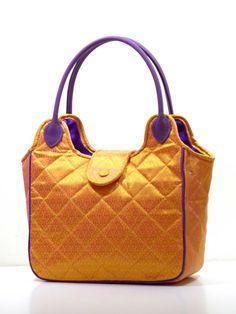 Welcome to Thai Luxury Handmade Unique Silk Fabric Tote Bags Tote Bags Handmade, Handmade Handbags, Fabric Tote Bags, Bags 2017, Gold Handbags, Silk Fabric, Dust Bag, Thai Art, Shoulder Bag