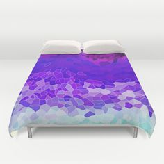 INVITE+TO+LILAC+Duvet+Cover+by+Catspaws+-+$99.00