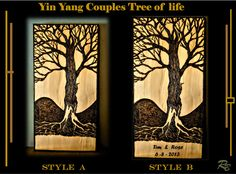 five year,wood,anniversary, gift, couples Five Year Anniversary Gift, Anniversary Gifts For Couples, 1st Anniversary, Tree Of Life Art, Tree Art, Boyfriend Gifts, Girlfriend Gift, Great Christmas Gifts, Retirement Gifts