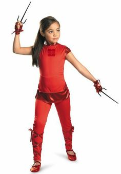 G.I. Joe Retaliation Jinx Classic Child Costume by Disguise. $25.88
