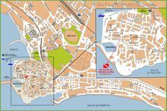 Trier tourist map Maps Pinterest Tourist map Trier and City