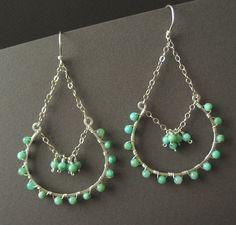 more chain earrings