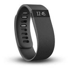 Refurbished Fitbit Charge Wireless Activity Wristband, Black, Large Deal