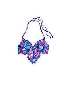 Push-Up Flounce - PINK - Victoria's Secret