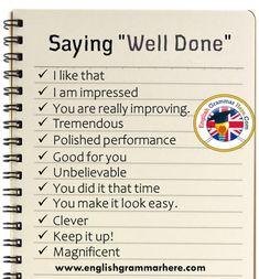 English Phrases Samples - English Grammar Here Essay Writing Skills, English Writing Skills, Writing Words, English Learning Spoken, English Language Learning, Teaching English, English Phrases, Learn English Words, English Grammar