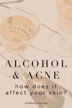 Whether a light drinker or a heavyweight, alcohol can be a good way to pass time with friends. But, what if that glass of wine was actually breaking you out?? Effects Of Drinking Alcohol, Dark Liquor, Stress On The Body, All Natural Vitamins, Acne Solutions, Skincare Blog, Natural Beauty Tips, Skin Problems, Acne Treatment