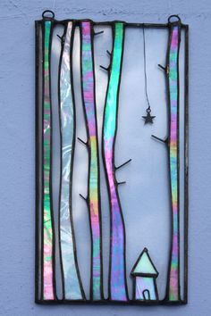 Tall Trees - Glass Art