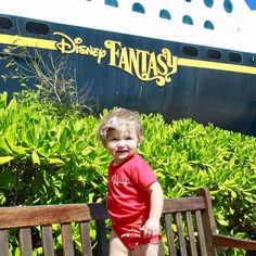 well this definitely gets me pumped about our Disney cruise! We leave on Sunday & this lil cutie just enjoyed one!  thanks for sharing @gabbysaurusrex