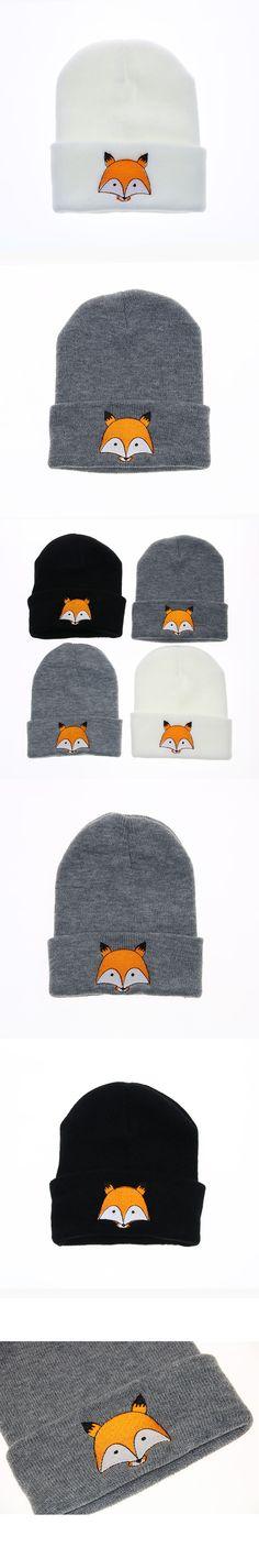 Children Hats Winter Baby Cartoon Knitted Beanie Caps Casual Kids Skullies Beanies Cap Fashion Autumn Knit Boys Hat For Girls