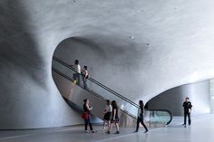 Broad Museum: the Contemporary Art museum of Los Angeles which opened in September 2015 designed by Diller Scofidio + Renfro in collaboration with Gensler obtained