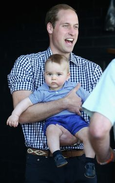 Well Played: Kate, Wills, and George's Royal Tour of Australia and New Zealand, Day Fourteen William and George at the Zoo – Go Fug Yourself