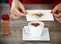 Best Ideas For Breakfast Desayunos Sorpresa I Love Coffee, Coffee Art, Coffee Break, Coffee Time, Decoration St Valentin, Comida Diy, Creative Food, Diy Food, Food Art