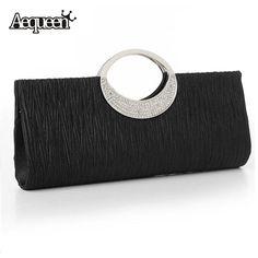 Fashion Evening Bags 2017 Handbag for Elegant Women Lady New Style Satin Crystal Clutch High Quality  Bolsa Feminina