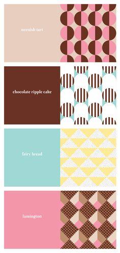 'Australian sweets' card range by Saskia Ericson