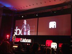 O humorista Luis Franco Bastos termina esta edição do #TEDxLisboa com um momento de humor #ElefantenaSala