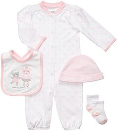 Carter's Pink Ballerina Bear 4 Piece Layette Set 3 Months... https://www.amazon.com/dp/B01CF2O2AE/ref=cm_sw_r_pi_dp_x_Cu1PxbK68M1CC