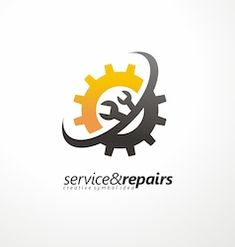 gear shape with wrench symbol. unique logotype for repair or service and maintenance business. corporate icon template with tools silhouette. S Logo Design, Vector Logo Design, Logo Design Services, Sd Logo, Maintenance Logo, Wordmark, Gear Logo, Word Mark Logo, Website Logo