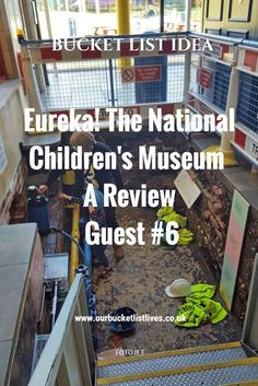 Eureka! The National children's museum - A review. Bucket list day out guest post #6