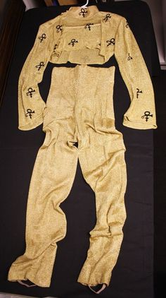 AMAZING never before seen Gold Experience complete  outfit plus Gold Prince boots on eBay - amazing collectible!