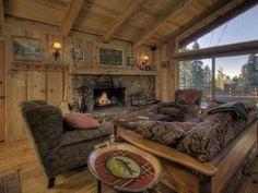 North Lake Tahoe Luxury Vacation Rental Cabin