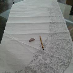 Boceto #diseñotextil #design #fallas #fallera #indumentaria #indumentarista #bordados #artesanía #t - silvia2esteves