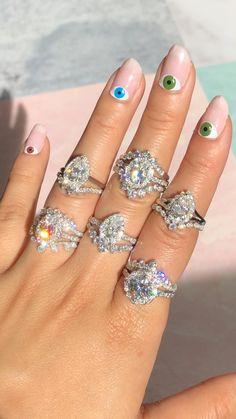 Halo Engagement Rings, Vintage Engagement Rings, Vintage Rings, Curved Wedding Band, Diamond Wedding Bands, Wedding Rings, Moissanite Bridal Sets, Moissanite Diamond Rings, Paris Wedding