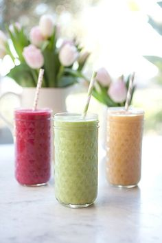 Healthy smoothies ..