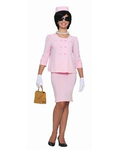 First Lady Pink Suit Adult Womens Costume
