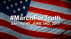 We are going to make some noise. Believe me. #MarchForTruth June 3rd, 2017