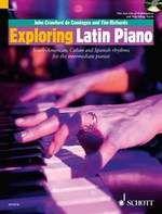 Soitonopas: Exploring Latin piano :  |b South-American, Cuban and Spanish rhythms for the intermediate pianist  / John Crawford de Cominges. https://arsca.linneanet.fi/vwebv/holdingsInfo?sk=fi_FI&bibId=419889